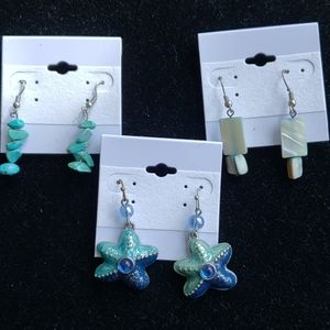 3pr earrings